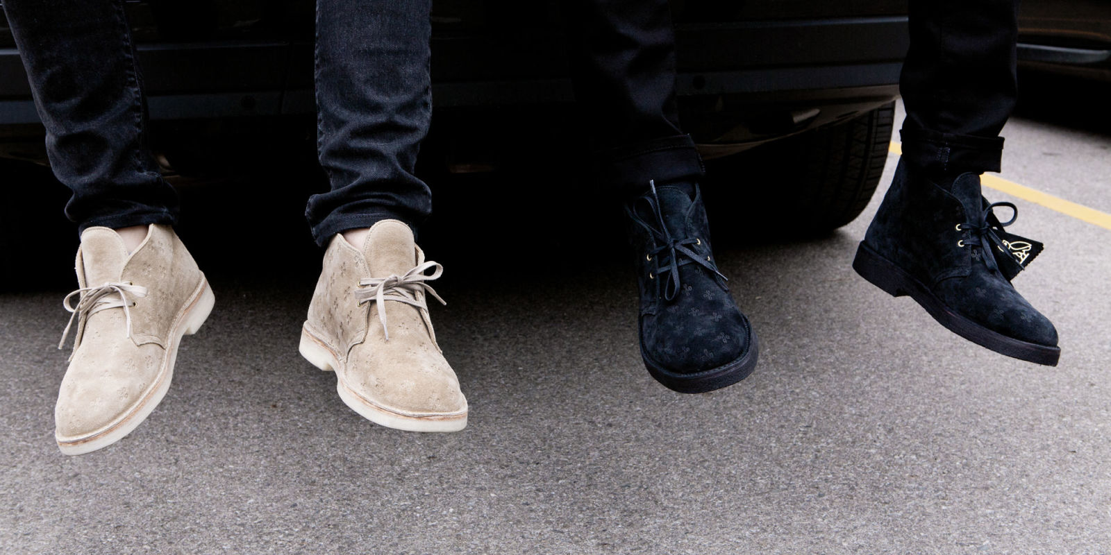 Drake S Ovo X Clarks Desert Boots Have Finally Arrived