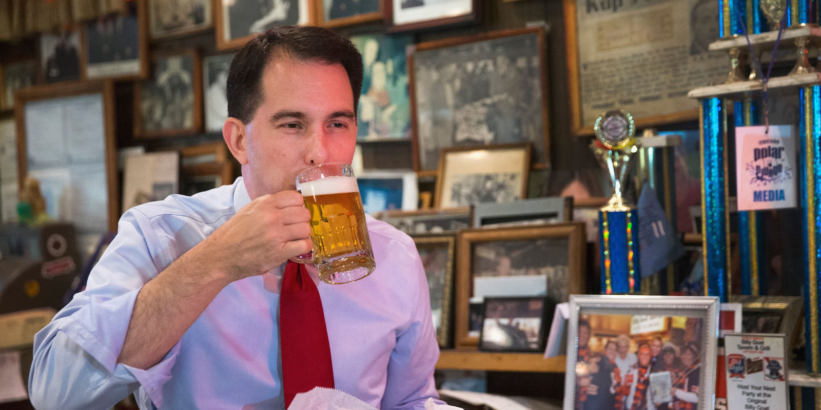 In Scott Walker's Wisconsin, the First Amendment Only Applies to Certain People