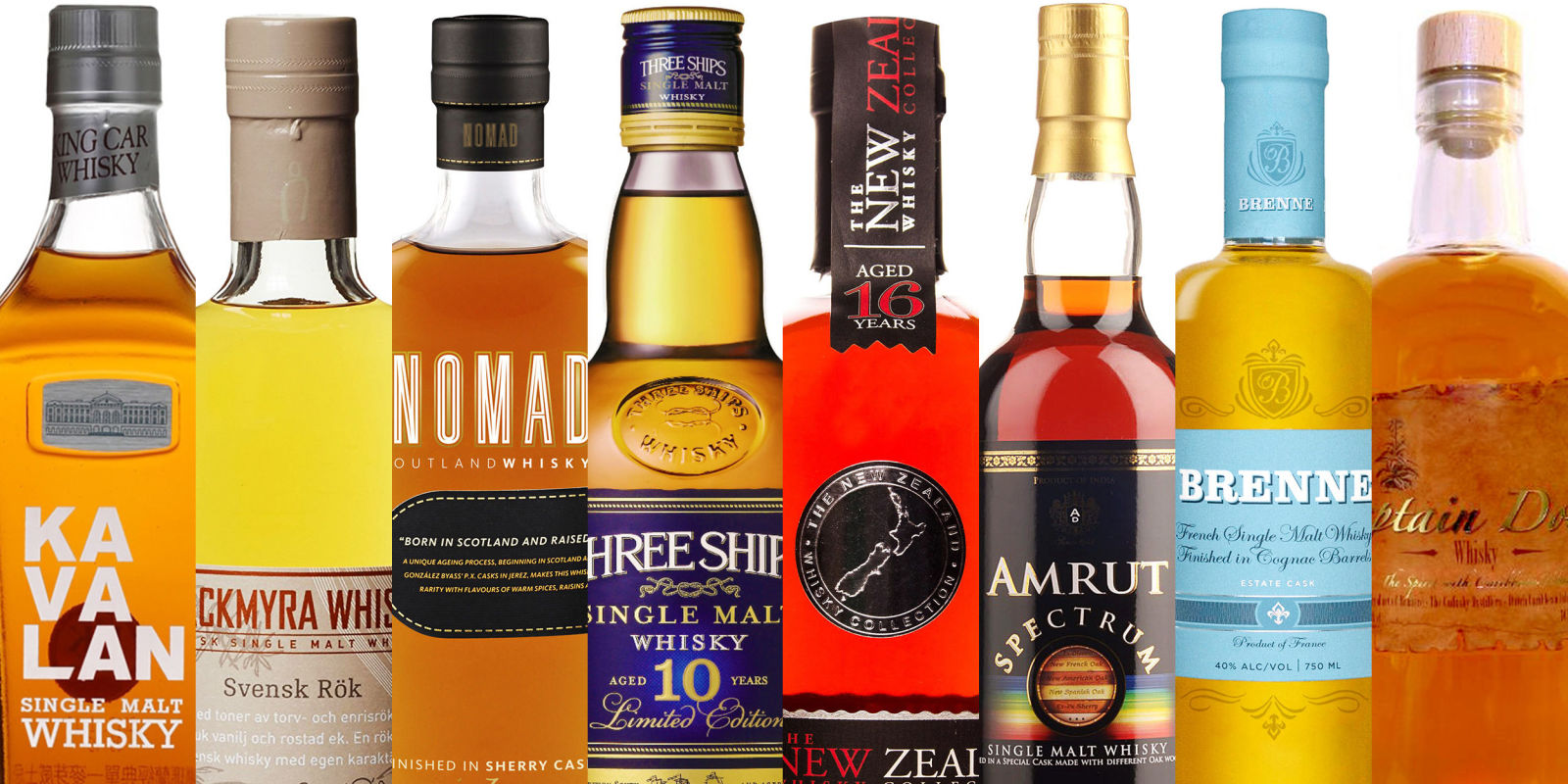 Esquire Names Nomad as Top Whisky From Countries You Didn't Even Know Made Whisky