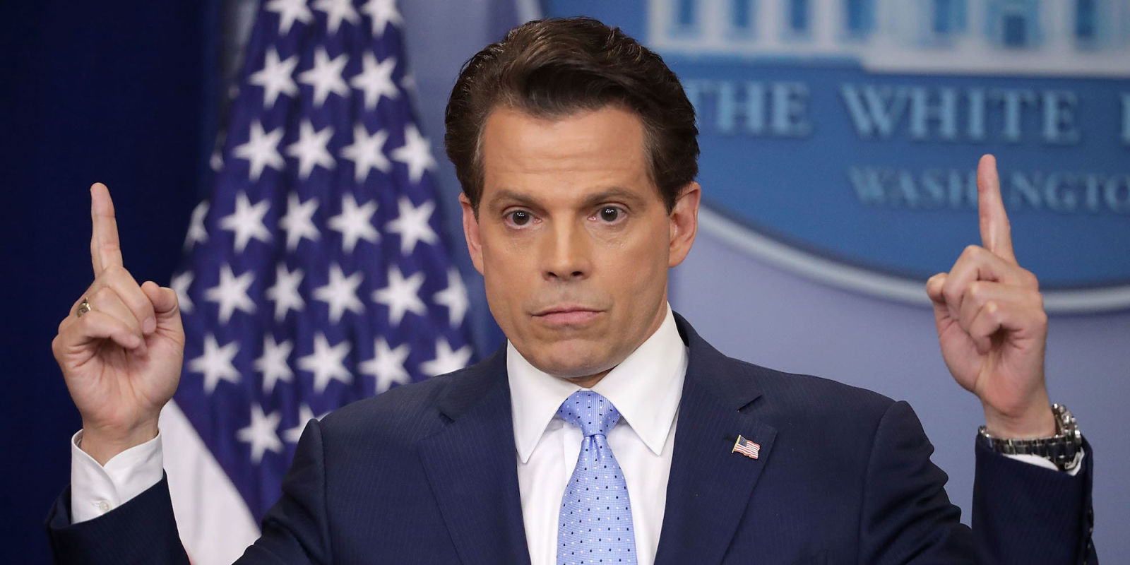 Scaramucci i 39 m not steve bannon i 39 m not trying to suck for Fish sucking dick