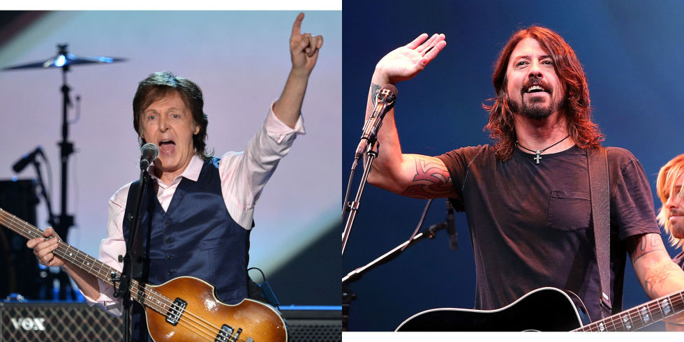 The Beatles Polska: McCartney perkusistą w Foo Fighters