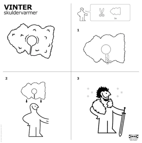 Ikea Vinter Rug