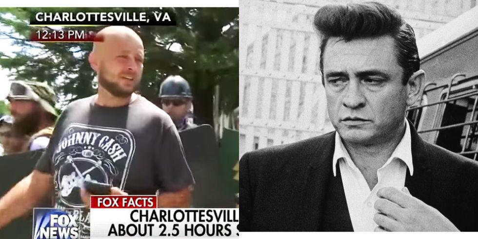 Resultado de imagen de Johnny Cash neo nazi