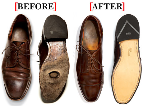 how to fix leather shoes crack