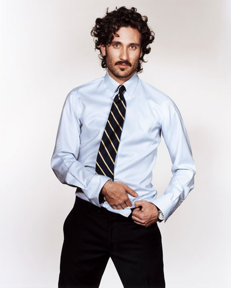 What to wear to work mens shirt and tie combos for work for Best business dress shirts
