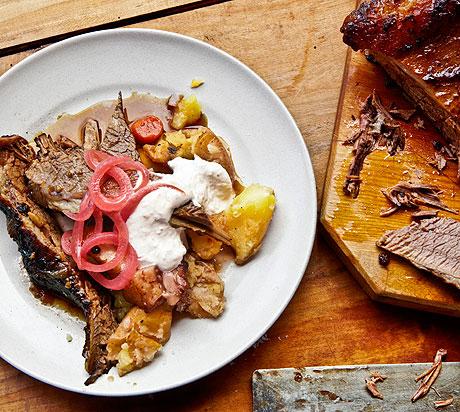Braised Beef Brisket Recipie - Suzanne Goin Braised Beef Brisket ...