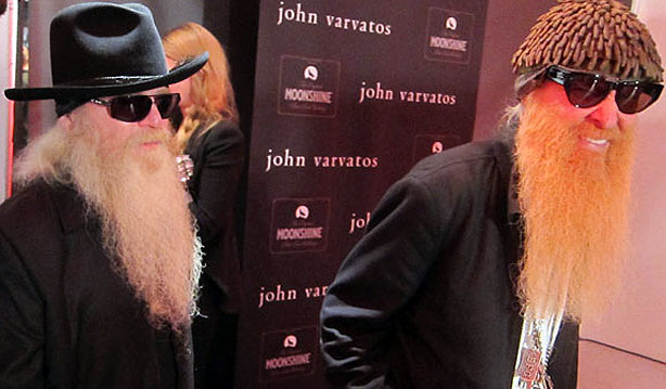 John Varvatos Anniversary Party Video Of Zz Top And