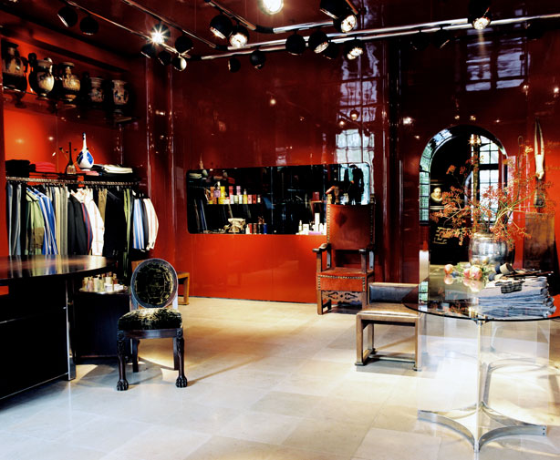 Commercial Van Interiors >> Dries Van Noten Men's Store in Paris - Esquire