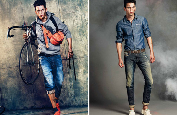 Image result for Diesel brand jeans model