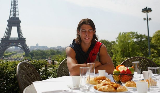 Image result for nadal eating