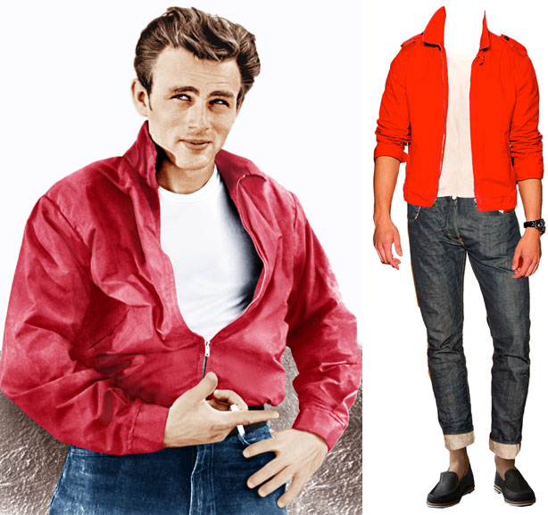 What Would James Dean Wear James Dean Red Jacket For Sale