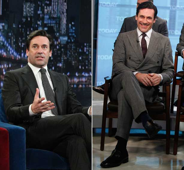 jon hamm don draper 2012 new jon hamm suits for mad men. Black Bedroom Furniture Sets. Home Design Ideas
