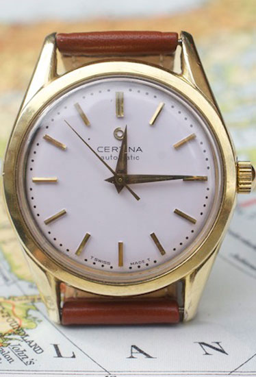 In which a noted Scandinavian retailer begins collecting, then selling, vintage watches online. Bookmark this site. And, also, consider this one in particular. Vintage watch ($264.51) by Certina, herrjudit.se