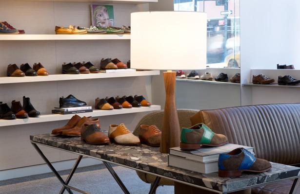 Florsheim Shoe Store New York - Florsheim Looks Back, and Then Way ...