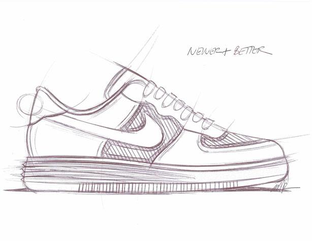 online store ed34c d0b03 ... nike air force 1 drawing original spongebob sketch the original sketch  was  esqa marc dolce of nike sportswear ...