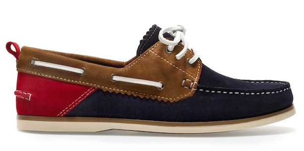 Shoe Porn: Zara Docksider Boat Shoe - The Best Shoes for Men