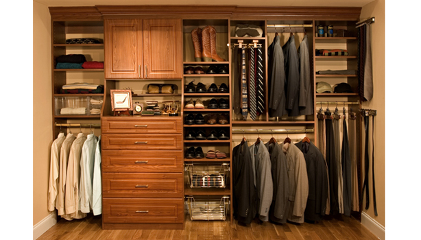 How to organize your closet closet organization for men - Mens walk in closet ...