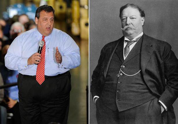 William Taft Weight Chris Christie Weight ...