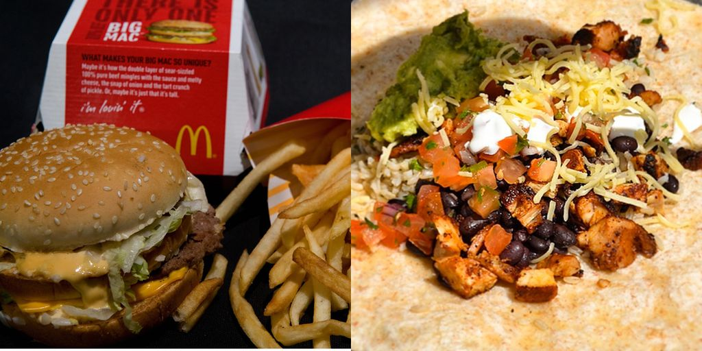 chipotle and mcdonalds relationship