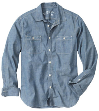 15 chambray shirts to wear this spring best shirts for men for Cuisine you chambray