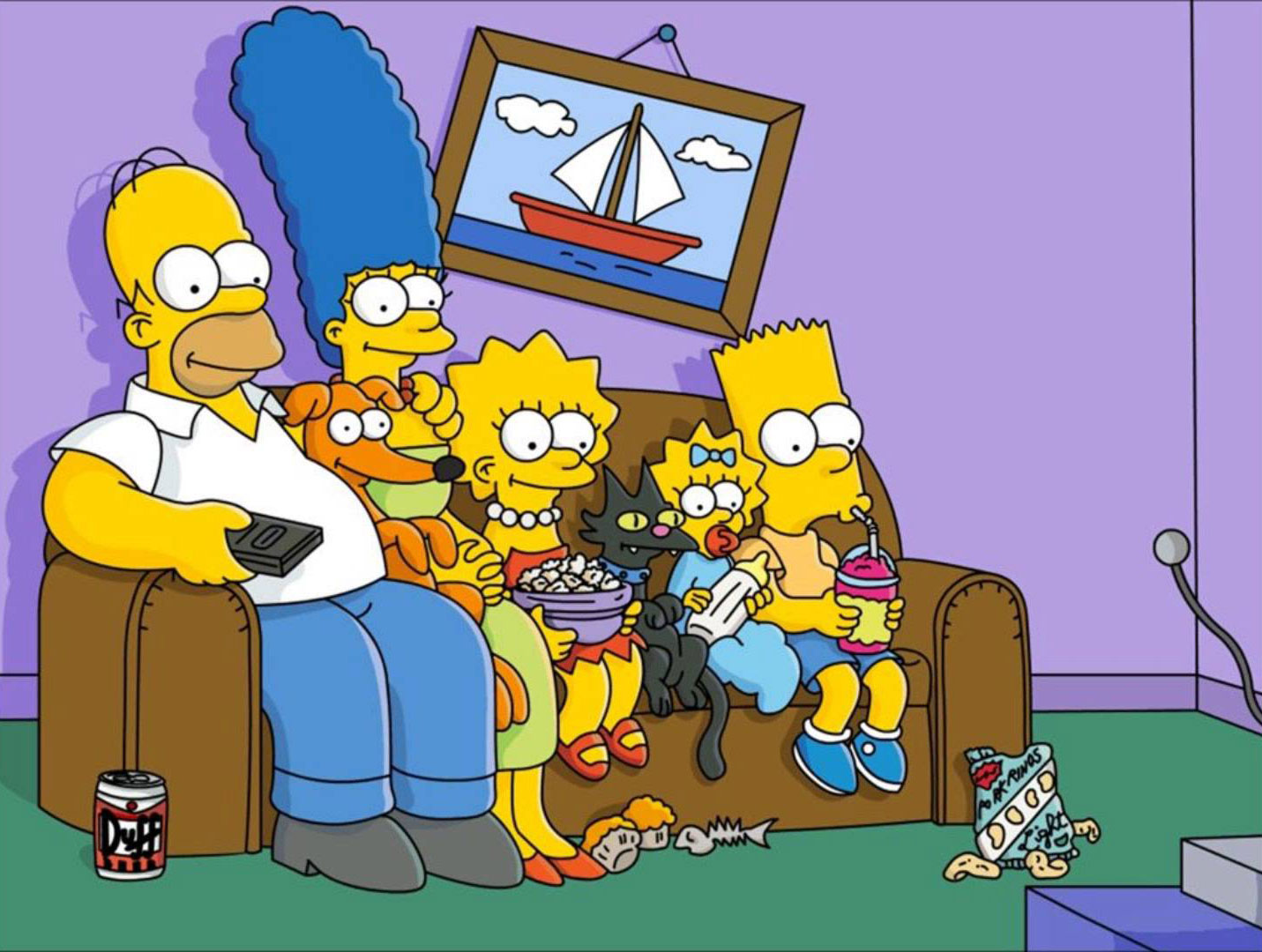 Why Are the Simpsons Yellow - This Is Why So Many Cartoon ...