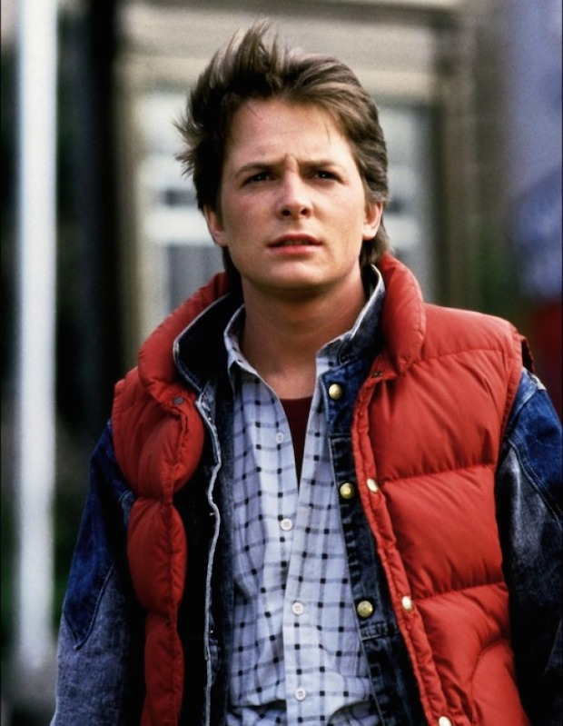 2. Michael J. Fox in Back To The Future