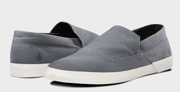 volcom canvas slip ons best shoes for