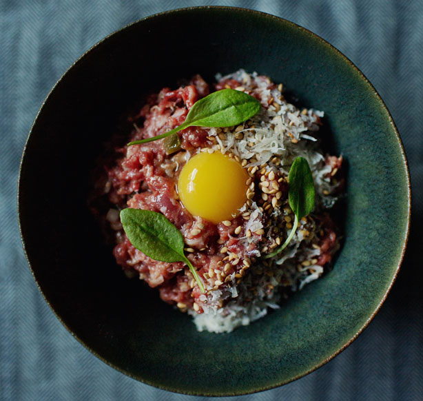 Hangar Steak Tartare Recipe - Raw Food Recipes