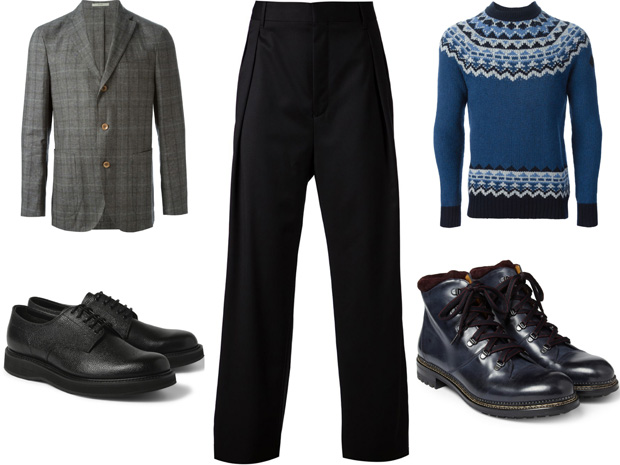 How to Wear Wide Leg Trousers - Best Men's Trousers 2015