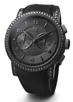 justin tuck interview best accessories for men david yurman s black automatic chronograph black diamonds