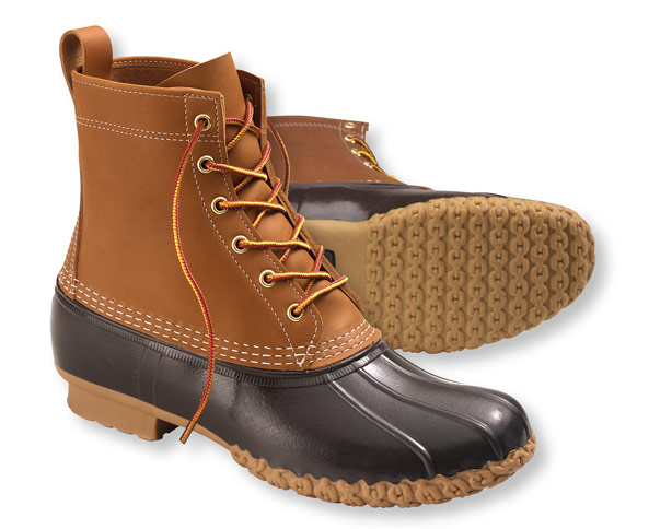 L.L. Bean boots are synonymous with fall and winter in America and as such, they get super backordered and sell out every year before winter even hits. My advice is to buy Bean Boots now so that you'll have them in the mail before temperatures start to drop and everyone rushes to try to get a pair.