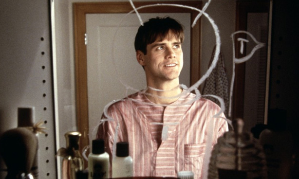 an analysis of the fake love in the truman show movie The truman show scene analysis by louisa simmons  truman is a man whose life is a fake one context the scene i chose to analyse is in the middle of the film by .