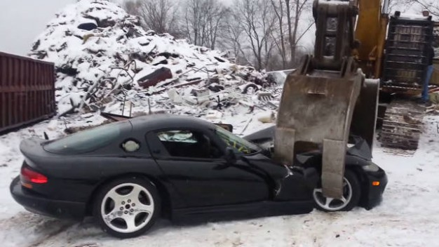 Most cars destroyed in a movie