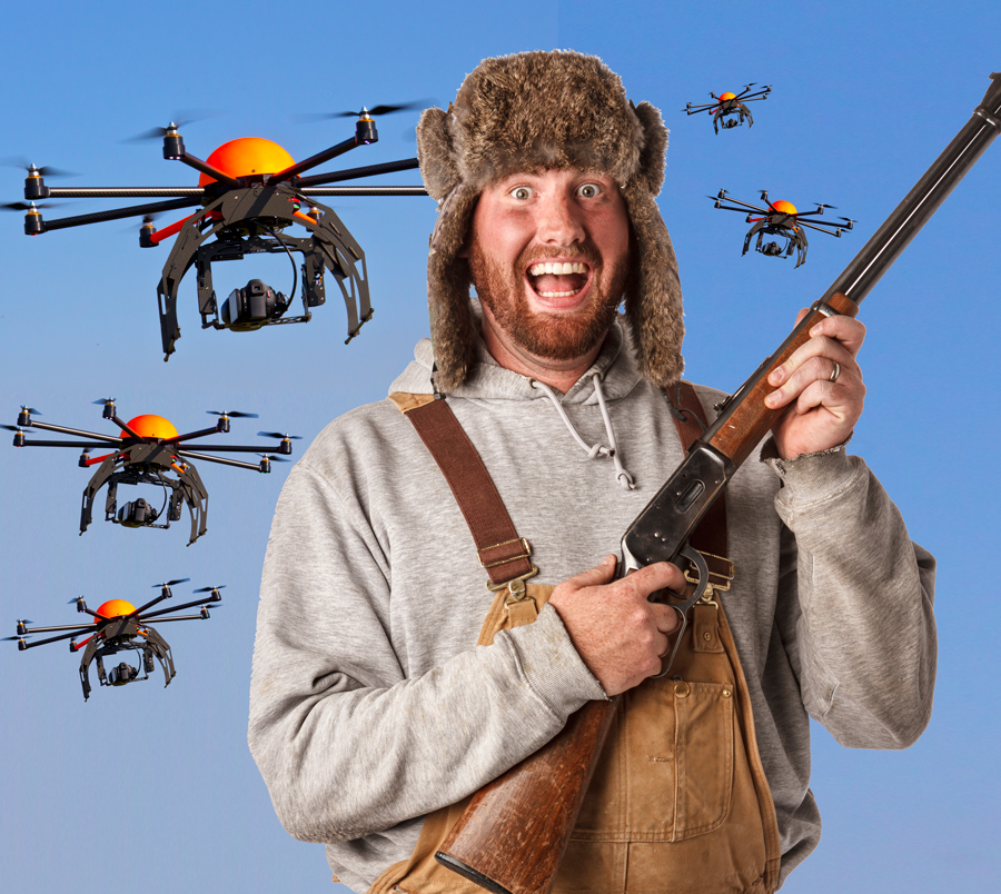 Colorado Hunting License: Plan To Issue Drone Hunting Licenses Shot Down