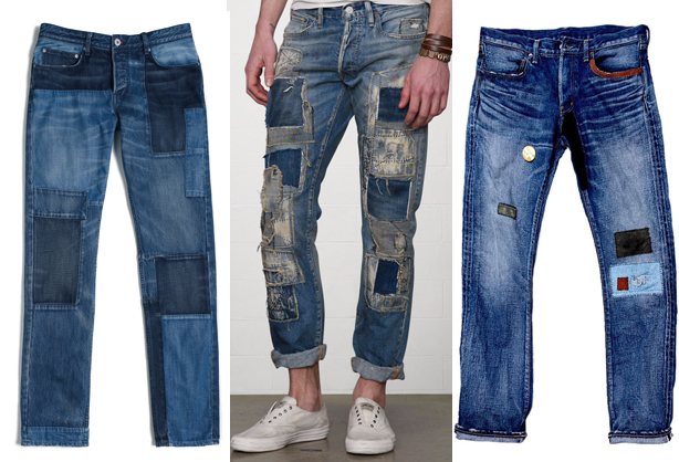 Patchwork Jeans Trend - Best Denim for Men