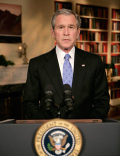 the presidency of george w bush politics essay Correction: november 14, 2004, sunday an article on oct 17 about the role of religious faith in george w bush's presidency omitted a source for a quotation from a speech by david rubenstein, co .