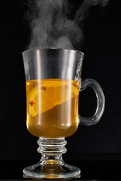 winter drink recipes - how to make hot whiskey