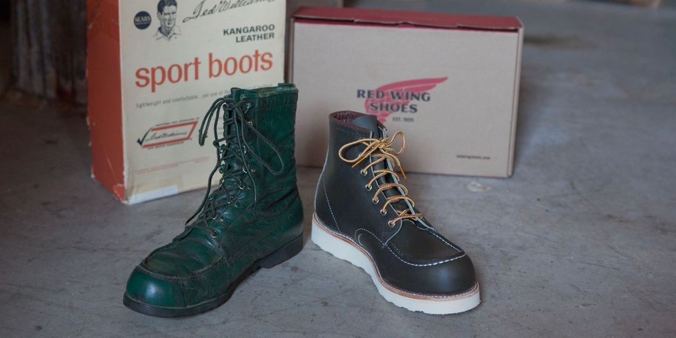 Red Wing Heritage Honors Ted Williams 888 Super Setter Boot with ...