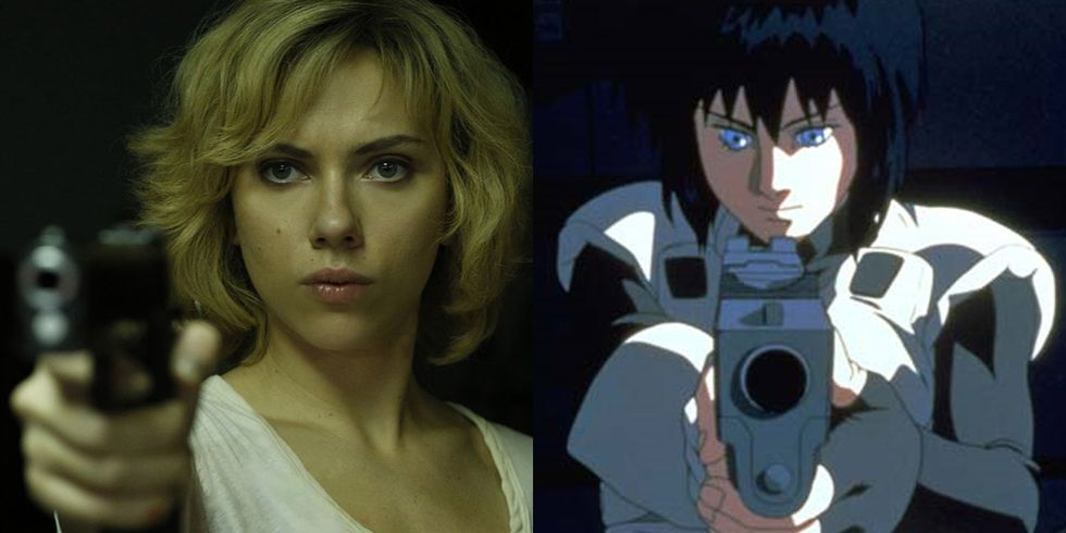 Ghost In The Shell Movie Motoko