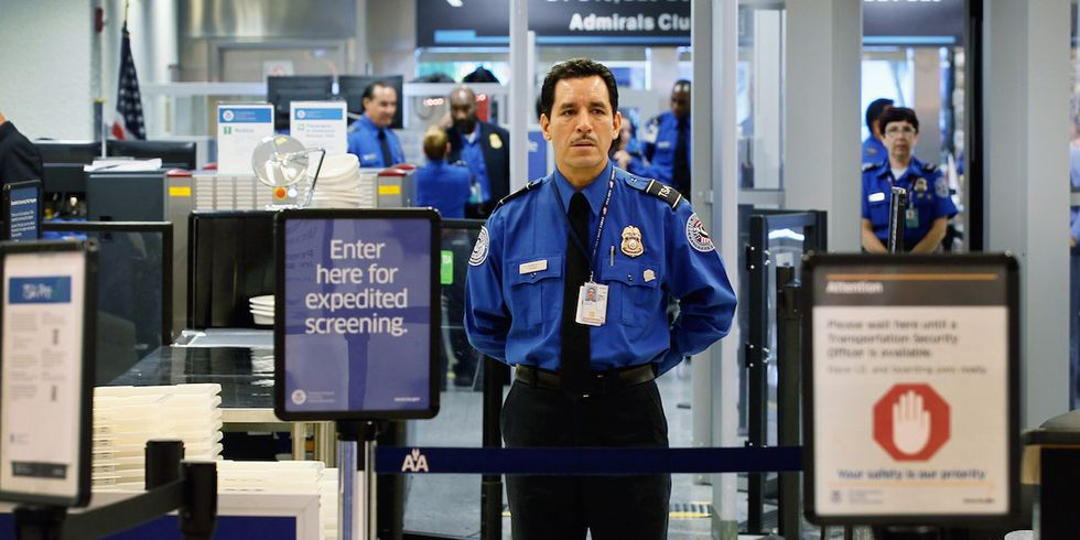 a shocking report finds the transportation and security administration is lousy at detecting weapons especially guns and explosives - Transportation Security Officer