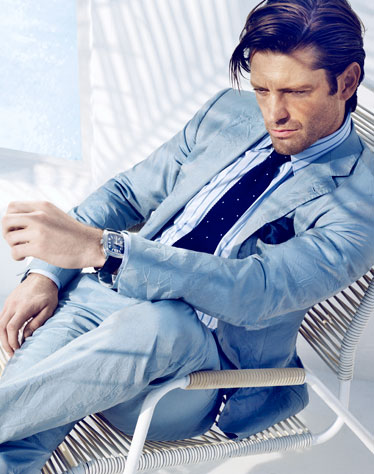 Blue Suits for Men - New Blue Suits 2012