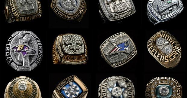 Best Superbowl Rings Of All Time