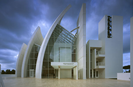 Richard meier architecture photographs of richard meier for The jubilee church