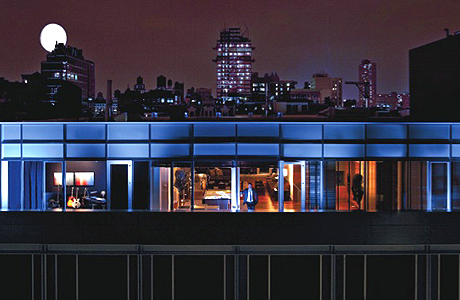 esquire soho mews penthouse - Manhattan Penthouse Apartments