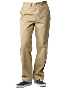 Khaki Pants - Pleats - Relaxed Fit