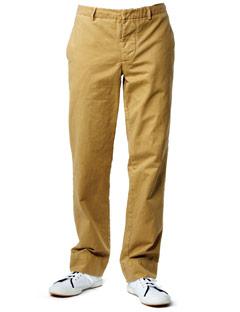 Khaki Pants - Pleats - Relaxed Fit
