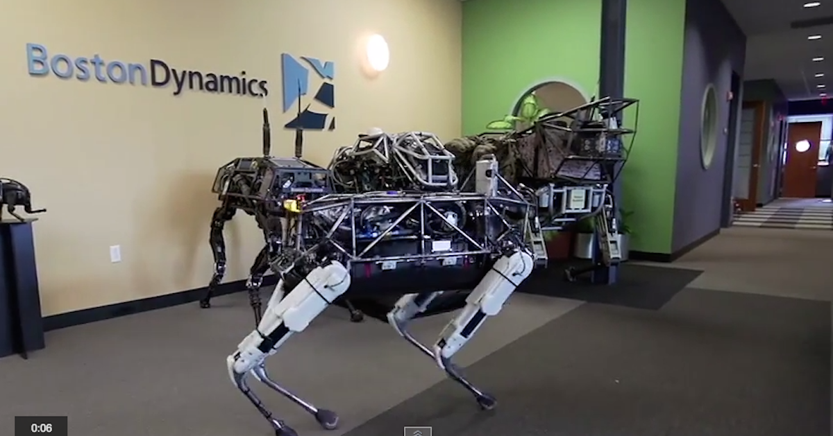 how to build a robot dog youtube