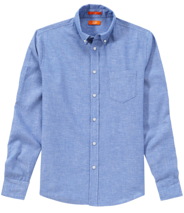 Guys can go for a full denim look that's a little bit country and a little bit rock 'n' roll, or they can use the chambray shirt as a casual base layer to dress down their sharp blazers for prime business-casual style goals. There's truly no way to fail at sporting the classic chambray shirt.
