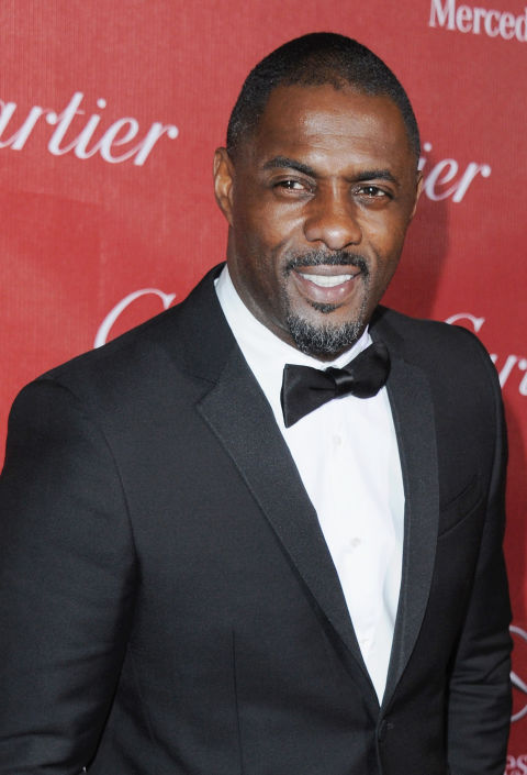 PALM SPRINGS, CA - JANUARY 04:  Actor Idris Elba arrives at the 25th Annual Palm Springs International Film Festival Awards Gala at Palm Springs Convention Center on January 4, 2014 in Palm Springs, California.  (Photo by Jon Kopaloff/FilmMagic)