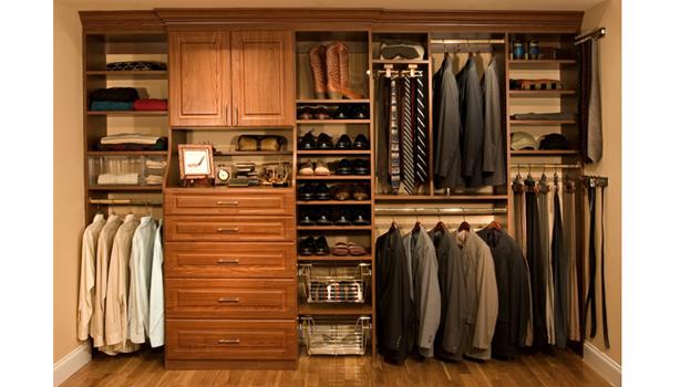 Image result for mens organized closet